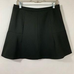 J. Crew Women's Black Skirt Size 8